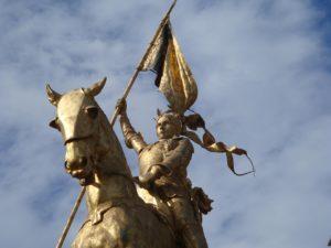 Jeanne D'arc - eine Ritterin? (pixabay.com)