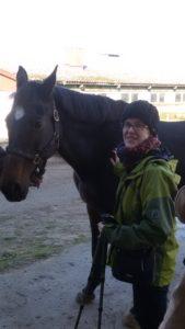 Hippotherapie - Reiterin und Ritterin